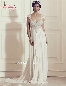 vintage lace sweetheart neck backless beach wedding dress With spaghetti strap beach wedding dress