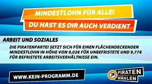 Personalschlüssel Kita Berechnen Nrw : mindestlohn ja nein vielleicht piratenpartei nrw ~ Themetempest.com Abrechnung
