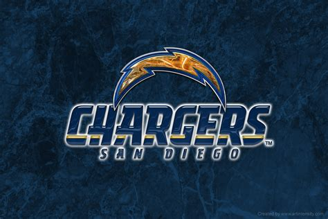 San Diego Chargers Nfl Football Team Logo Wallpapers Hd