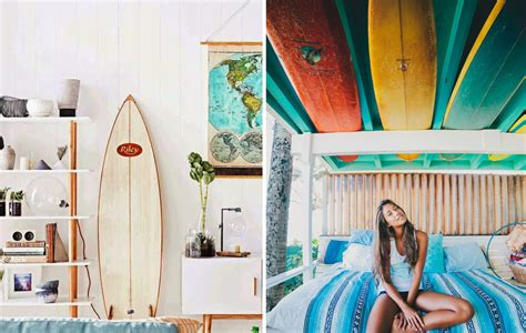 d馗oration surf chambre superbe objet de decoration design 1 utiliser une planche de surf comme d233coration joli joli design kirafes
