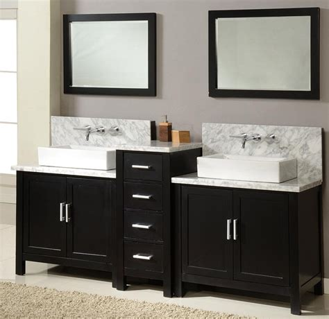 Double Sink Vanity Designs In Gorgeous Modern Bathrooms. Window Treatments. Bath Room Vanity. Glass Oval Coffee Table. Frameless Glass Shower Doors Cost. Chippendale Bar Stool. Mdf Baseboard. New England Homes Ohio. Sea Glass Decor