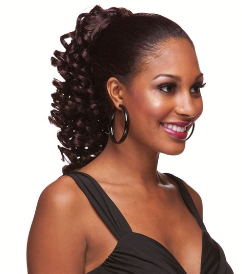 First always start with some kind of heat protectant. Spiral Curl Ringlet Draw String Hair Piece