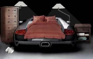 Deco Avec Piece De Voiture : le lit voiture pour la chambre de votre enfant ~ Medecine-chirurgie-esthetiques.com Avis de Voitures