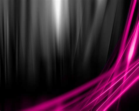 Hot Pink And Black Wallpaper 1 Wide Wallpaper