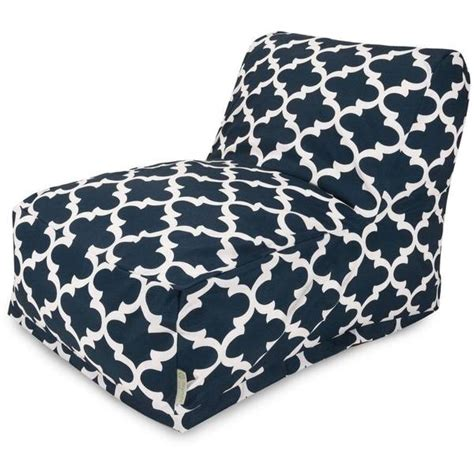 majestic home goods trellis bean bag lounger chair free