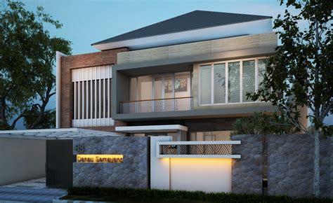contoh desain rumah minimalis modern  lantai desain