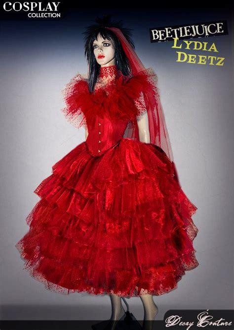 costume cosplay lydia deetz matrimonio beetlejuice