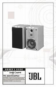 Jbl Scs 178 Sat User Guide    Operation Manual  U2014 View