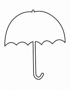 Umbrella Outline Clipart - Clipart Suggest