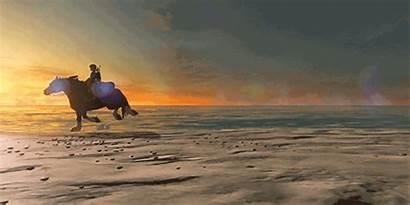 Breath Wild Zelda Link Legend Epona Games