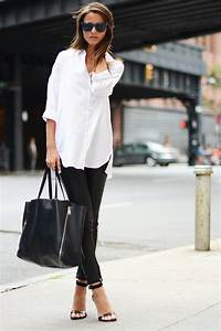 Casual Chic Black & White Outfit for Summer - Pretty Designs
