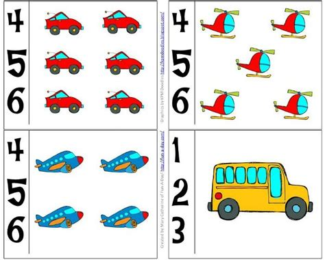 glass for crafts preschool transportation theme math activities