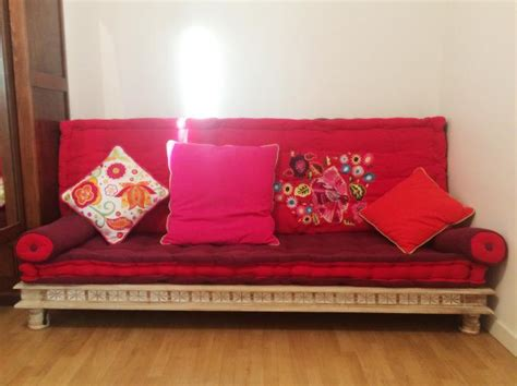 canap style indien banquette indienne