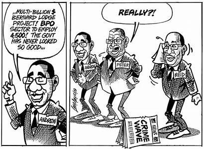 Jamaica Gleaner Sunday October Cartoon Sun Cartoons