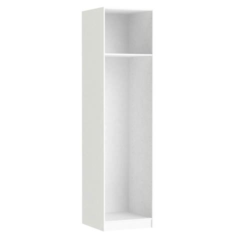 caisson spaceo home 240 x 60 x 60 cm blanc leroy merlin