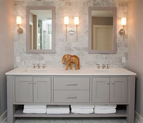 Bathroom Vanity Backsplash Ideas by Pretty Bathroom Vanity Backsplash Ideas With Wood Trim