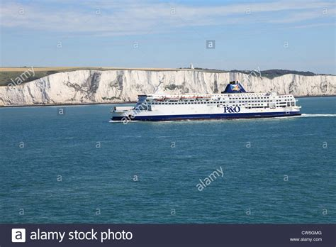 Boat To France From Dover by P O Cross Channel Ferry Quot Pride Of Calais Quot With The White