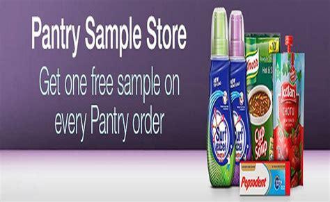 amazon pantry  samples  amazon india flashsaletricks