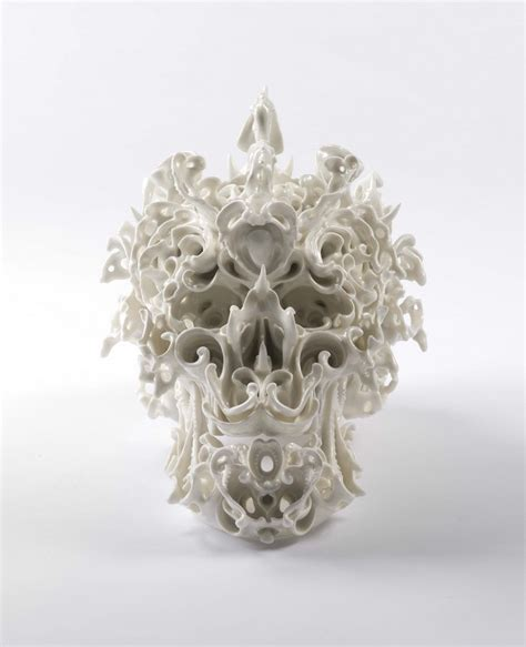Modification Artist Known As Skull by Impressive Ceramic Skulls By Katsuyo Aoki I Lobo You