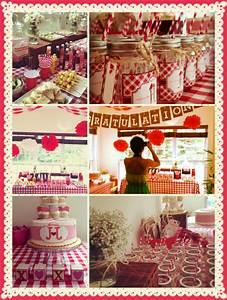 country picnic theme bridal shower bridal shower country With country themed wedding shower ideas