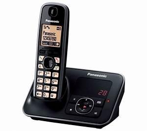 PANASONIC KX-TG6621EB Cordless Phone with Answering ...  Panasonic
