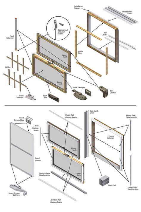 series tilt wash parts diagram
