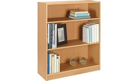 4 Ft Wide Bookshelf by Buy Argos Home Maine 2 Shelf Small Bookcase Beech Effect