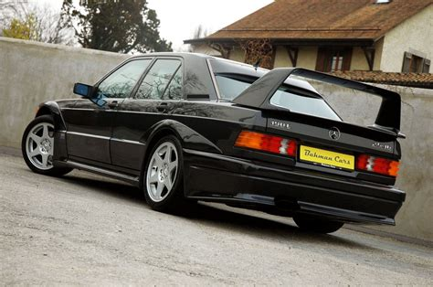 Only one color is available for this car: 1990 Mercedes-Benz W201 190E 2.5-16 Evolution II | BENZTUNING
