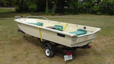 Sears Gamefisher Boat by New To Me 14 Skiff The Hull Boating And Fishing
