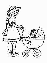 Coloring Doll Pages Printable Popular Pre sketch template
