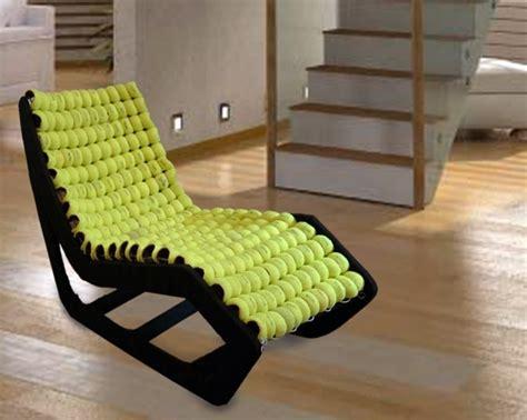 chair design  tennis balls  gabriel coch