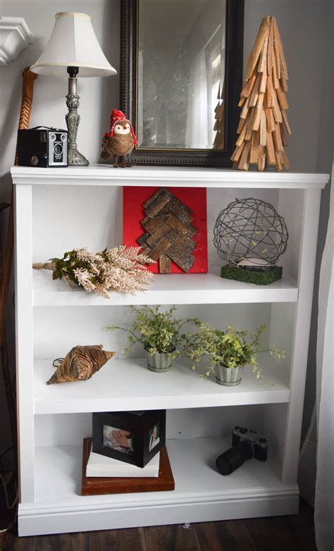 bookcase christmas decorating ideas christmas home tour combining diy traditional and
