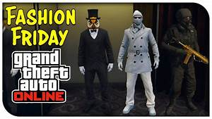 GTA 5 Online - FASHION FRIDAY! (Airborne Special Operative Man of Snow u0026 Hoodini ) [GTA V ...