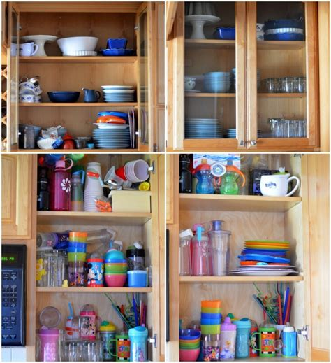How To Organize Your Kitchen Cabinets  A Creative Mom