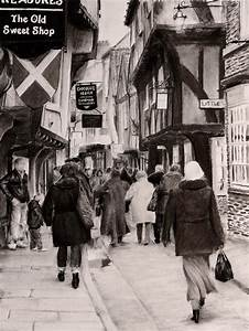 The Shambles in old town York, UK (daytime) by AlexFleming ...