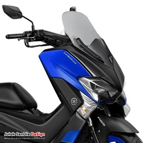 Konsep Nmax 2018 by Ini Yamaha Nmax 155 Modif Bukan Facelift Julak Sendie