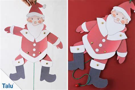 weihnachtsmann basteln vorlagen weihnachtsmann basteln anleitung und vorlagen talu de