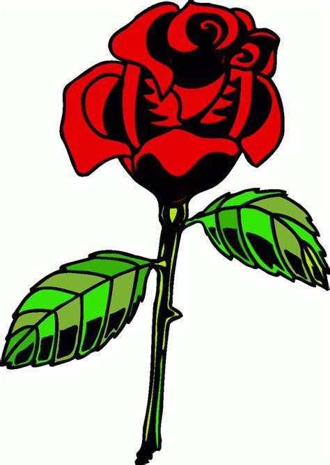 einzelne rote rose ausmalbild malvorlage haushalt