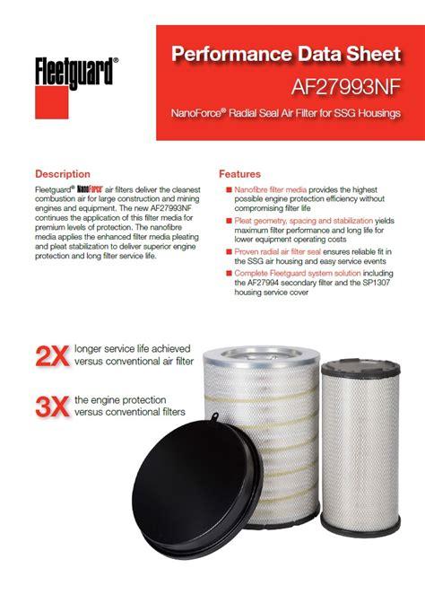 air filtration cummins filtration