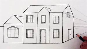 How To Draw 3D Building Drawing Autocad 3D House Modeling ...