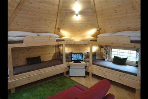 log cabin  teversal  camping  caravanning club