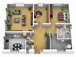 Grundrisse Für Bungalows 4 Zimmer : bungalow grundrisse bungalow bauen h ~ Sanjose-hotels-ca.com Haus und Dekorationen