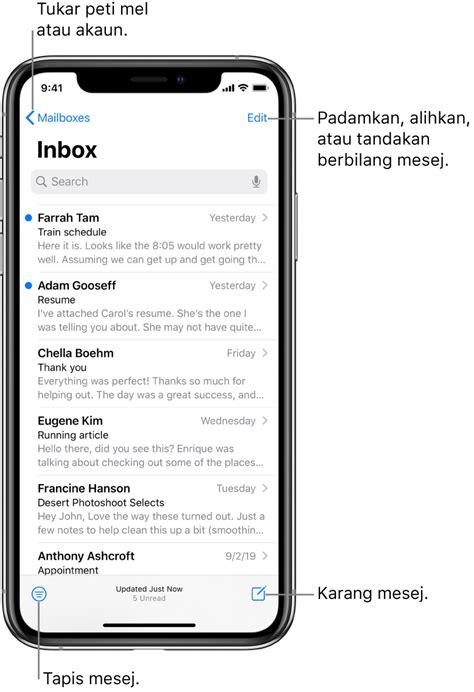 Tulis e-mel dalam Mail pada iPhone - Sokongan Apple