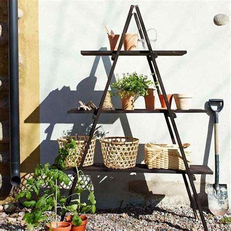 reciclar una escalera de madera