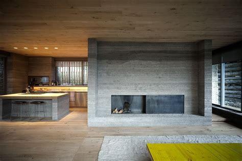 Inneneinrichtung Fliesen Aus Zement Im Hotel by Wohnzimmer In Umgebauten Stall Mit Beton Und Holz