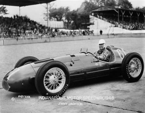 500 indy indianapolis 1948 front keck cars jackson jimmy race drive special wheel racing history ims drives archives dirve speedway