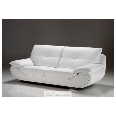 canap en cuir blanc canape design cuir blanc