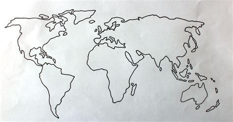 world map globe drawing wwwbleublondetumblrcom art