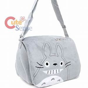 My Neighbor Totoro Plush Messenger Bag Crossbody Shoulder ...