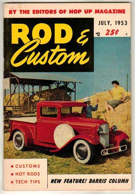 rod custom car magazine july   hot  vintage